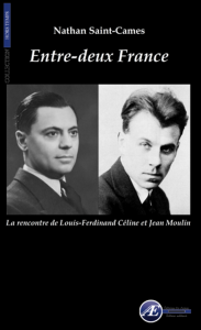 Entre-deux France -Nathan Saint-Cames aux Éditions Ex Æquo
