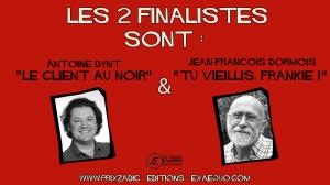 deux finalistes du Prix Zadig 2018