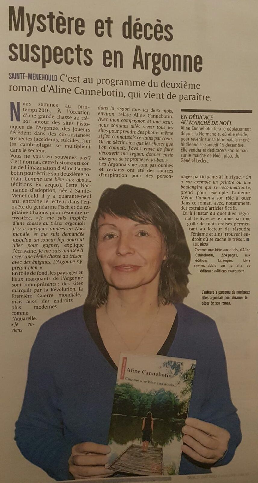 Article Aline Cannebotin