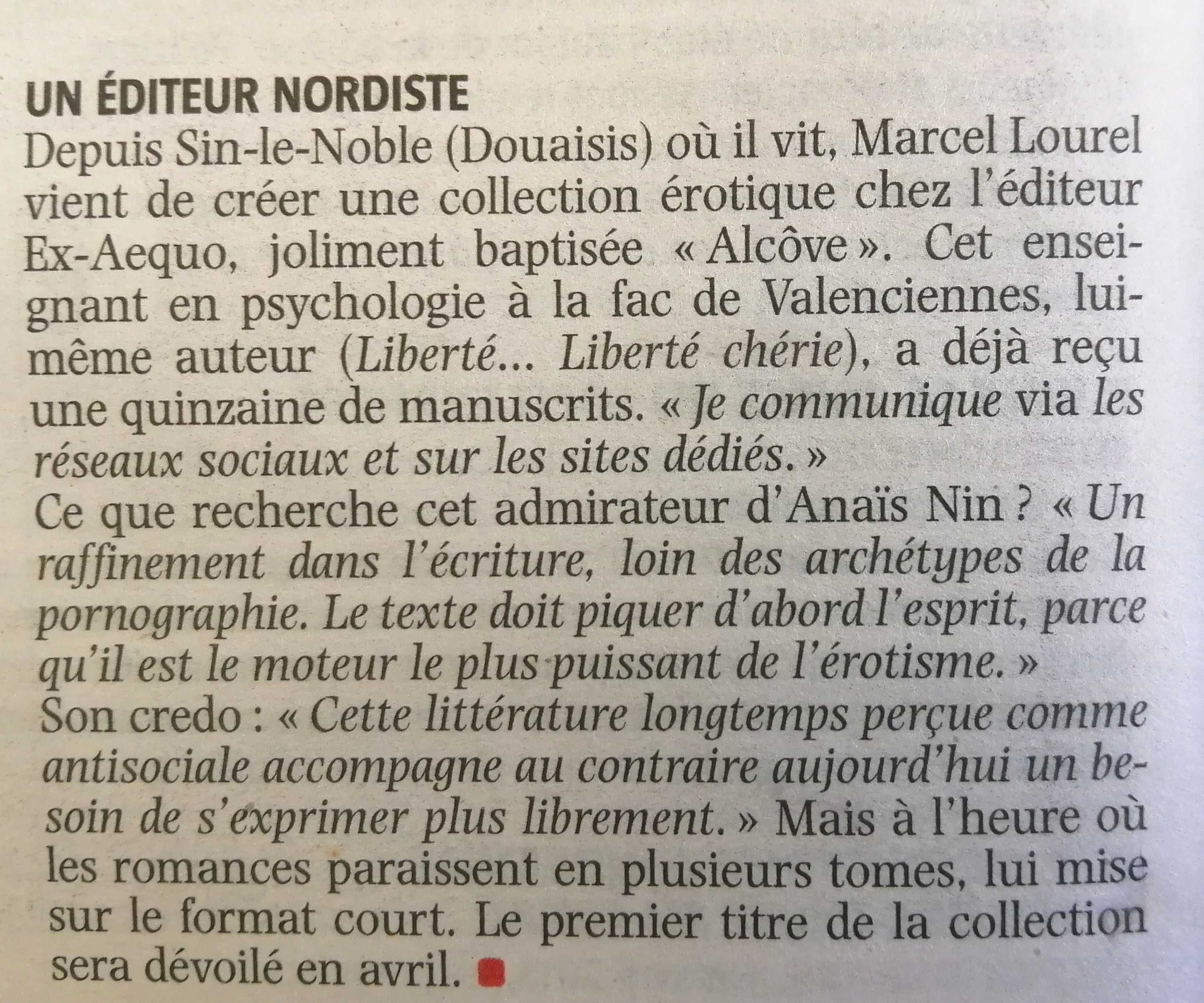Article Marcel Lourel 1