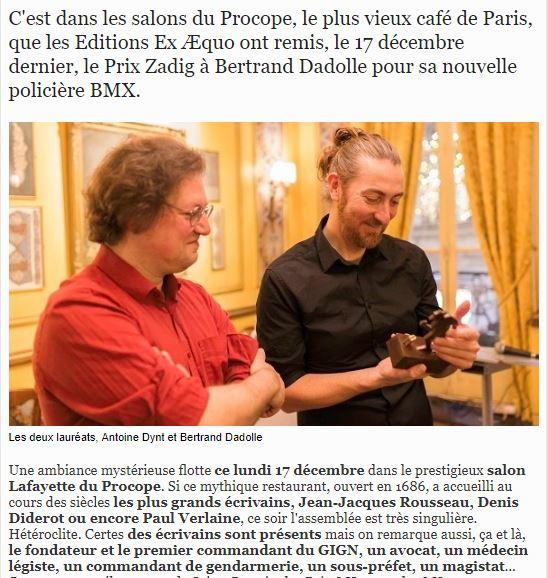 article Prix Zadig 1