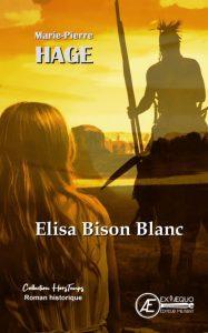 Elisa bison blanc Marie-Pierre Hage