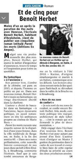article DNA Benoît Herbet