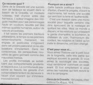 Article Ouest France Gens de la Gravelle2