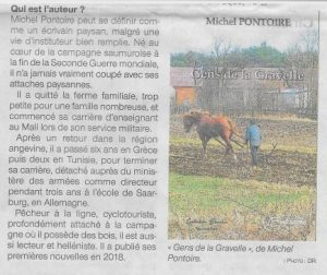 Article Ouest France Gens de la Gravelle3