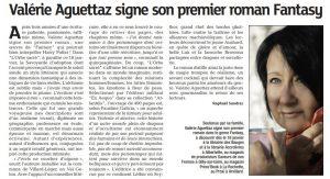 Article de La Maurienne L'Orbe sacré