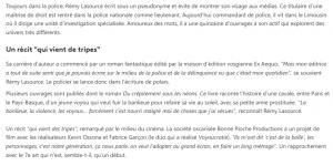 Article france TV Info Du crépitement sous les néons 2