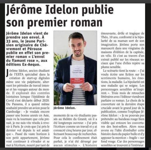 Article Est Républicain Jérôme Idelon