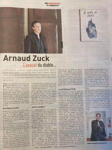 Républicain Lorrain Arnaud Zuck