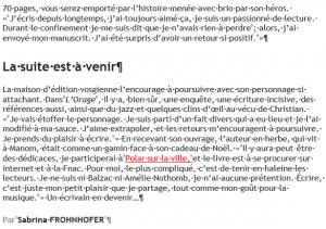 Christian Schott L'orage Le Républicain Lorrain 3/06
