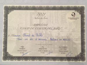 Prix Coup de coeur Gourmets de lettres